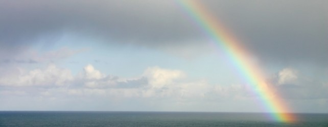 A Rainbow in the Clouds: Sign of God's Covenant