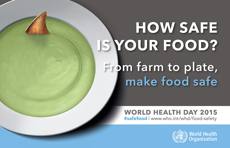 World Health Day 2015 #safefood